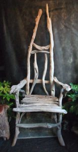 driftwood storytellers chair