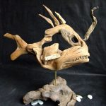 Driftwood Angler Fish by Nigel Peterken