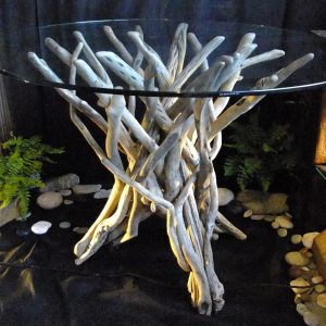 Driftwood table by N Peterken