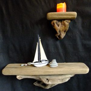 Driftwood shelves, Driftwood shelf
