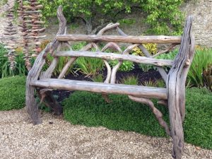 Driftwood Bench, by Nigel Peterken
