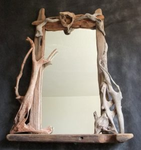 Driftwood Mirror by N. Peterken 2013