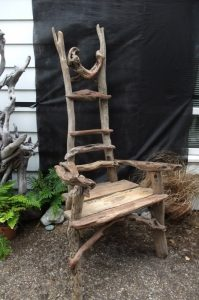 Driftwood Chair by N. Peterken 2013